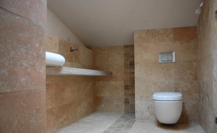 Salle de bain an pierre avec wc suspendus cybeles photo n 74 - Salle de bain avec wc suspendu ...