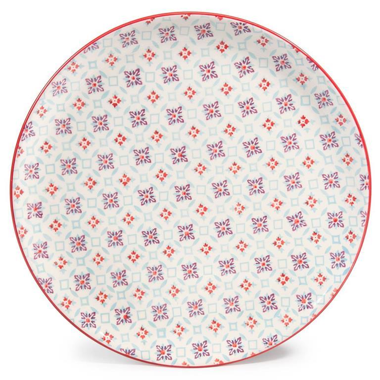 Assiette plate en faïence COCOTTE Maisons du monde