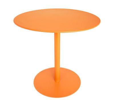 Table FormiTable XS / Métal - Ø 80 cm - Fatboy orange