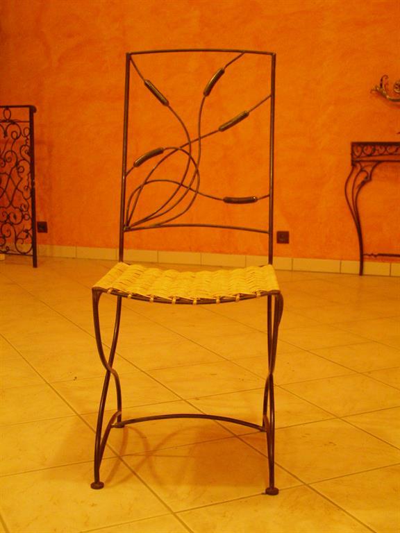 Chaise roseau