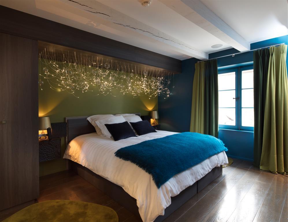 Parquet en bronze et couleur en accord pour une chambre cosi Parquet pour chambre