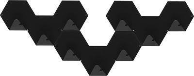 Patère Simplex lot de 3 - Tolix noir en métal