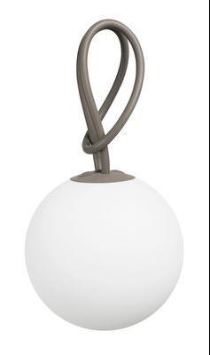 Lampe sans fil Bolleke LED - Intérieur/extérieur - Fatboy taupe en matière plastique