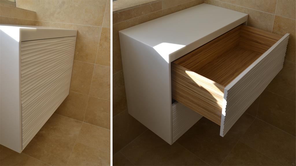 Salle de bain luxe - Meuble sur mesure salle de bain ...