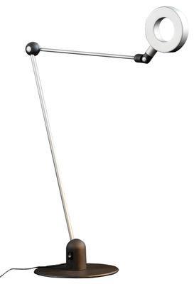 Lampe de table L´amica LED - Martinelli Luce gris en métal
