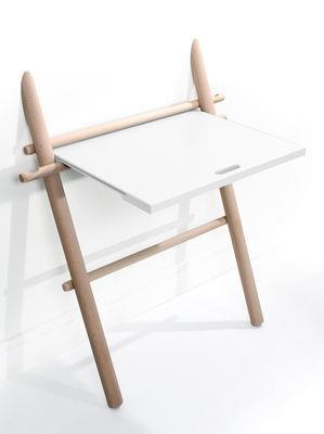 Bureau Appunto pliable / Table d´appoint - ENOstudio Blanc