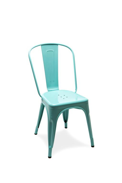 Chaise A bleu cliel