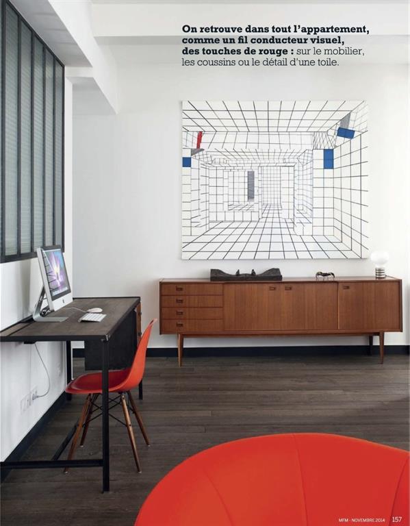 Salon / espace Bureau