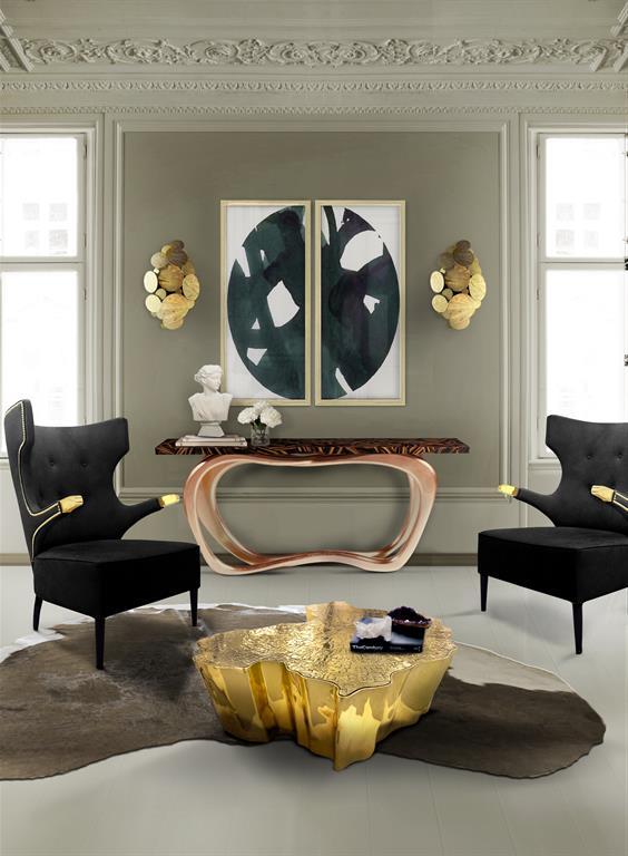 Salon utilisant quelques pièces Boca do Lobo