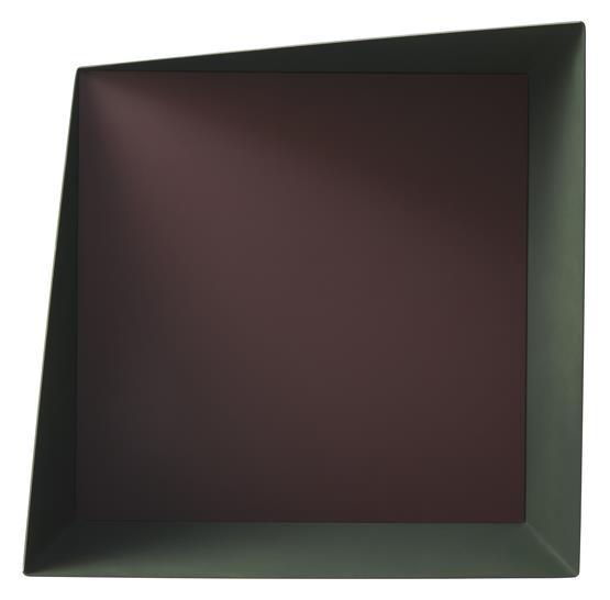 Etagère Wall Box Vert & Bordeaux - Please Wait to be Seated