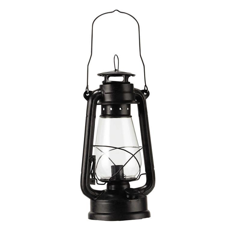 Lampe en métal noir H 42 cm TEMPÊTE