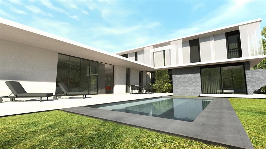 Villa contemporaine avec terrasse et piscine Jean-Yves Arrivetz