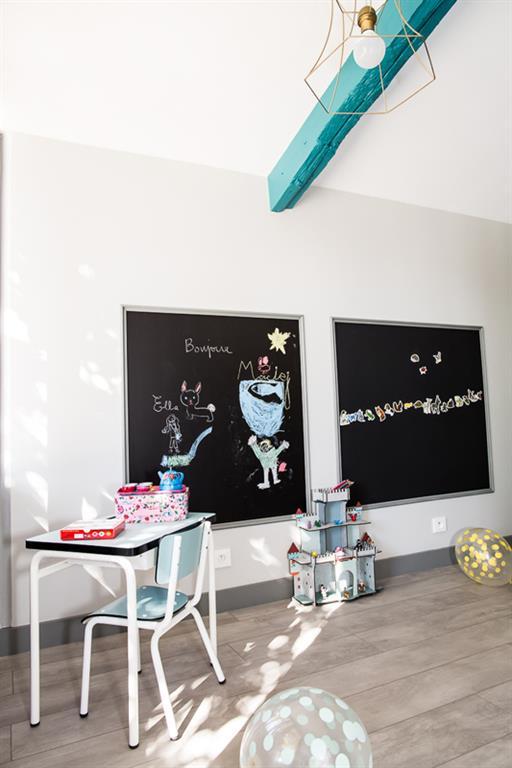Image Espace de travail et dessin pour enfant Nuance d'intérieur