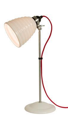Lampe de table Hector Bibendum / H 57 cm - Porcelaine striée