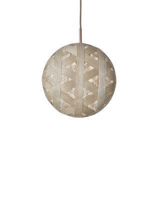 Suspension Chanpen Hexagon / Ø 26 cm - Forestier beige en tissu