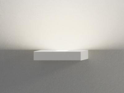 Applique Set LED / L 22 cm - Vibia blanc en métal
