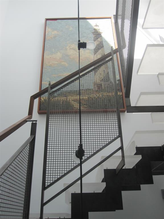 Escalier Contemporain Design Transparent Avec Garde Corps