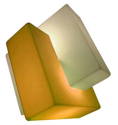 Lampe de sol Pzl / H 60 cm - Slide blanc