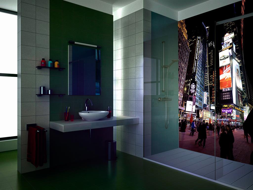 Salle de bains for Habillage mural salle de bain