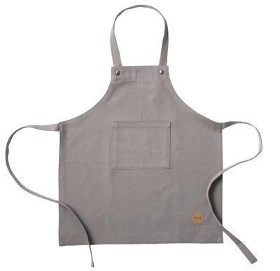 Tablier enfant / Coton - Ferm Living gris en tissu