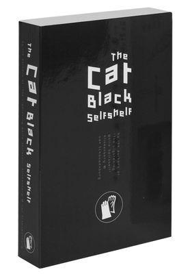 Etagère Self Shelf Pocket – Cat black / Trompe-l´œil