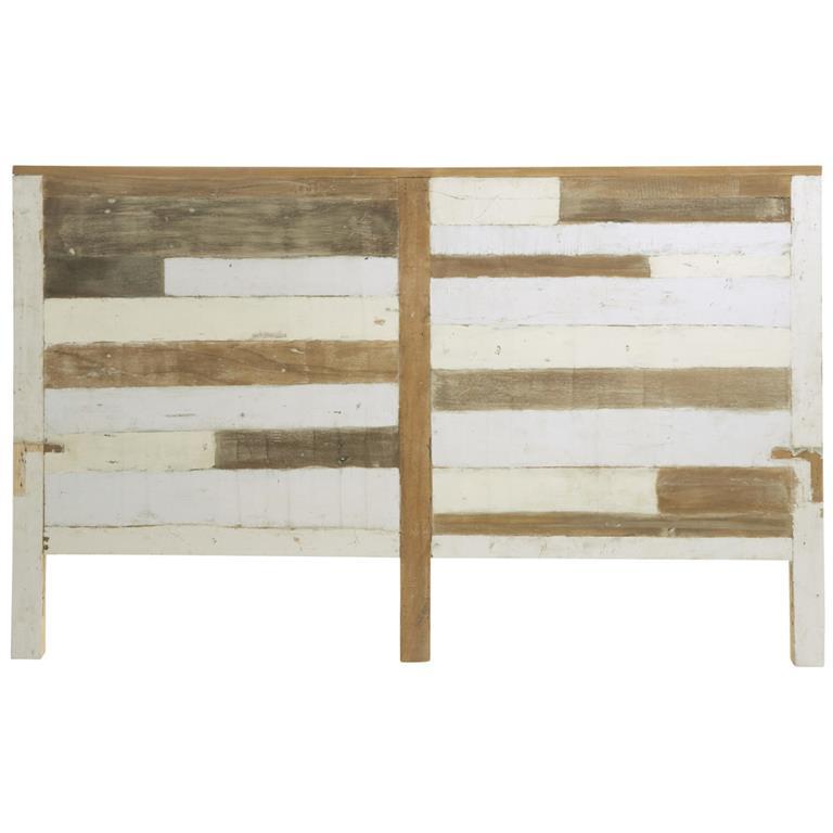 Tête de lit en bois recyclé L 160 cm Arcachon