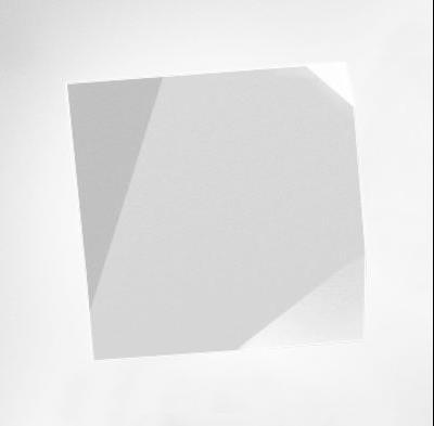 Applique Origami LED / Motifs n°2 - Vibia blanc en matière plastique