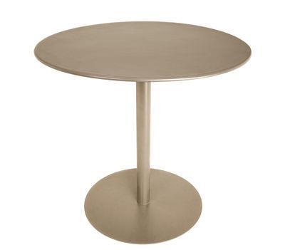 Table FormiTable XS / Métal - Ø 80 cm - Fatboy taupe