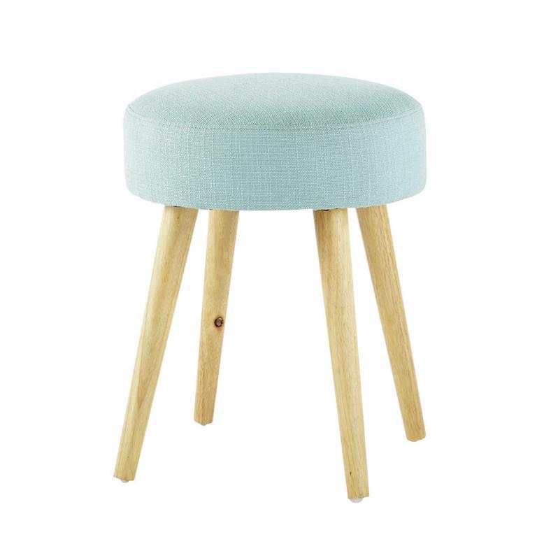 Tabouret style scandinave bleu
