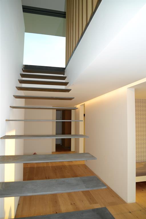 Escalier flottant en acier lhermitte architecture photo n 35 - Escalier flottant construction ...