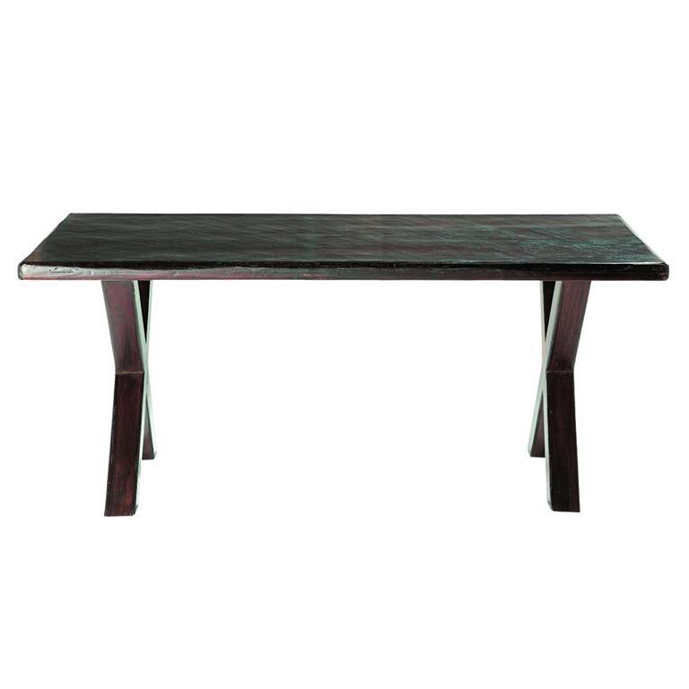 Table de salle à manger en bois de sheesham massif L 180