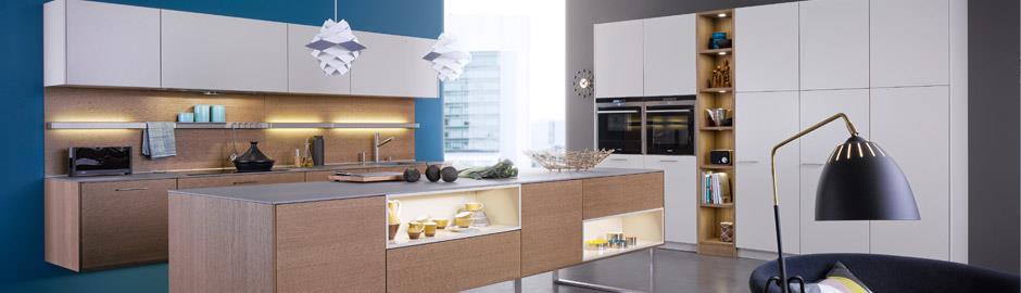 meuble cuisine blanc et bois - le bois chez vous - Peinture Bois Meuble Cuisine