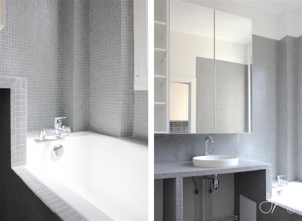Carrelage Salle De Bain Moderne Mosaique Bains Id Es De