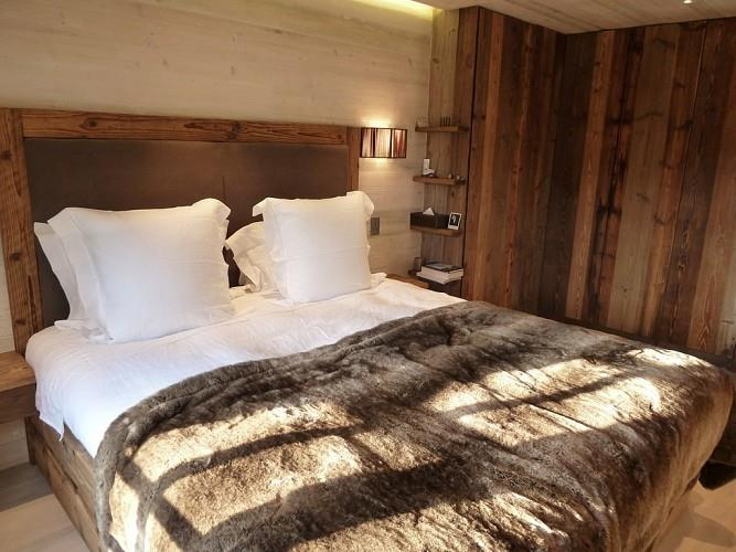 Chambre chambre style chalet moderne : chambres Chalets Idée déco et aménagement chambres Chalets - Domozoom