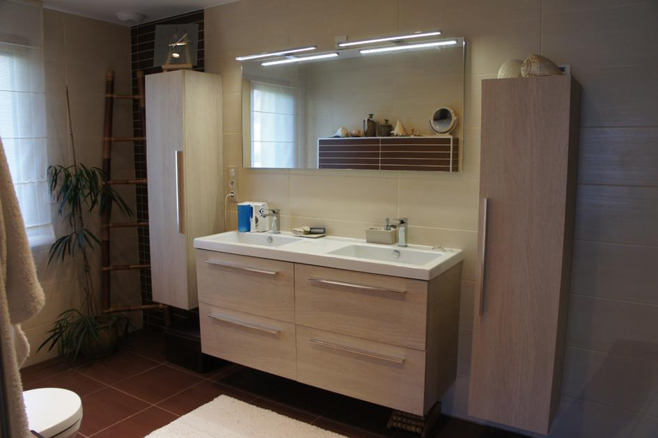 Suite parentale for Grande salle de bain