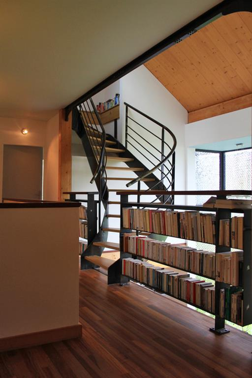 Garde Corps Biblioth Que Sur Le Palier Atelier 970