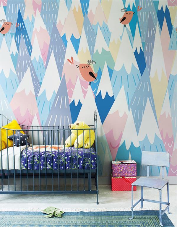 papier peint pour chambre b b myloview photo n 61. Black Bedroom Furniture Sets. Home Design Ideas