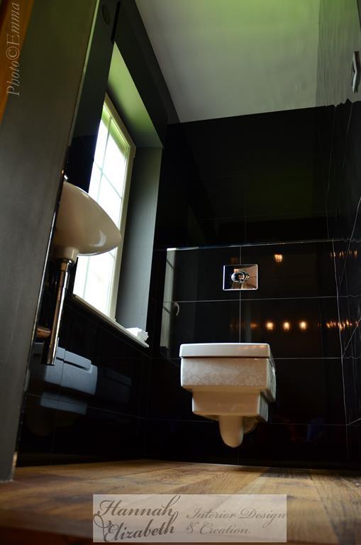 Chambre et salle de bain moderne et traditionnel for Wc contemporain