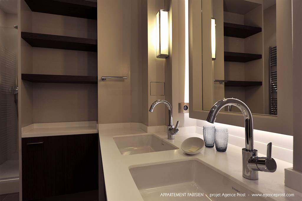 image salle de bain pure agence prost - Salle De Bain Epuree