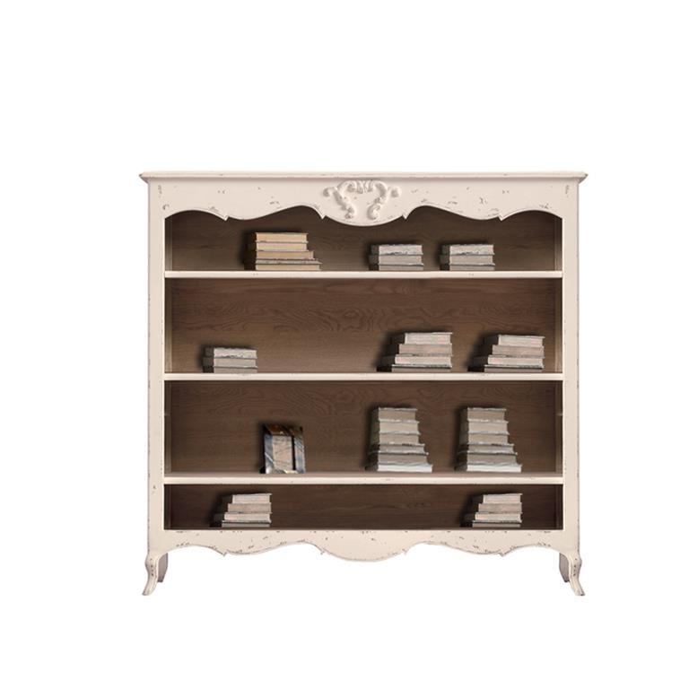 biblioth que blanche en bois de ch ne dialma brown. Black Bedroom Furniture Sets. Home Design Ideas