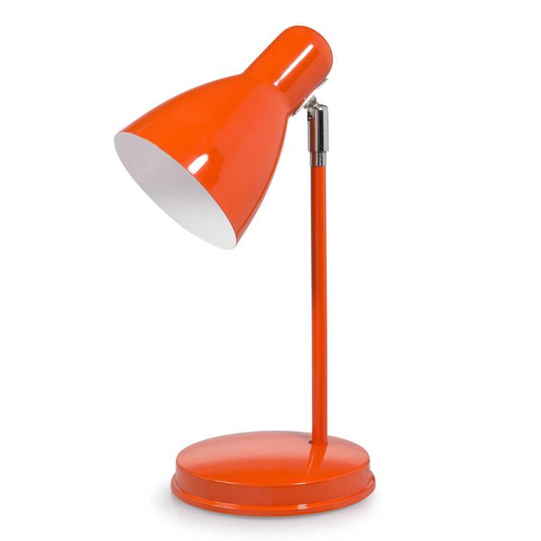 Lampe en métal rouge H 35 cm ELLA ROJA