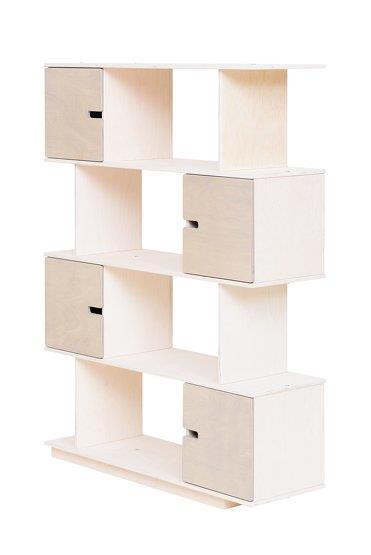 Etagère 4 niveaux blanche Pix - Radis