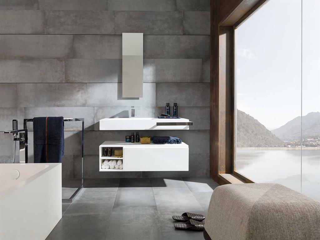 Salle De Bain Lhonneux ~ carrelage gris salle de bain alamode furniture com