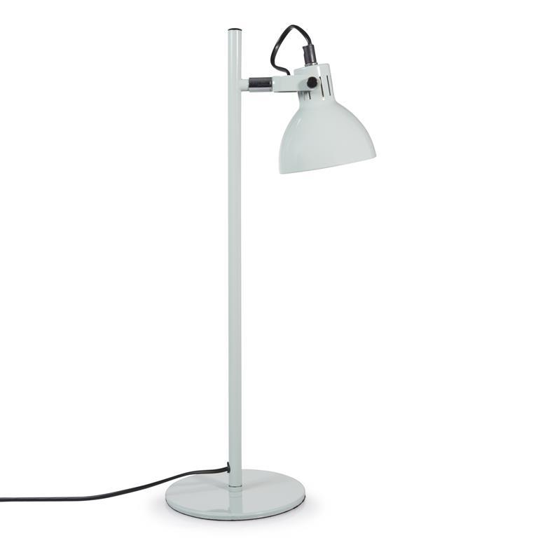 Lampe en métal vert menthe H 51 cm MINIMINT