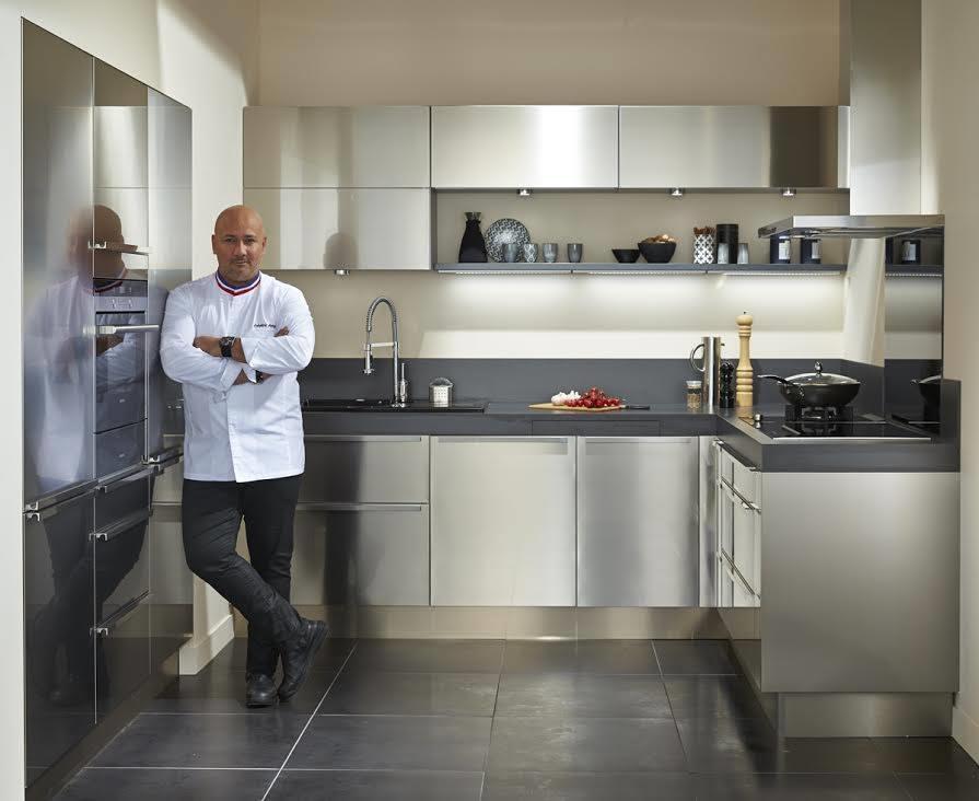 Bandeau inox pour cuisine great meuble cuisine inox for Cuisine inox particulier