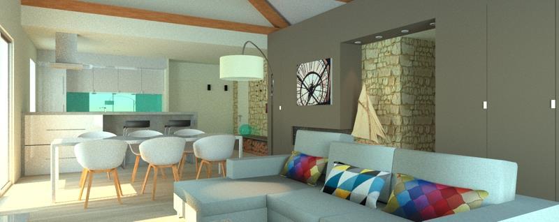 vue depuis la pi ce vivre apms architectes photo n 99. Black Bedroom Furniture Sets. Home Design Ideas