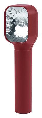 Lampe de poche Mezzo LED / Rechargeable USB - Lexon Rouge