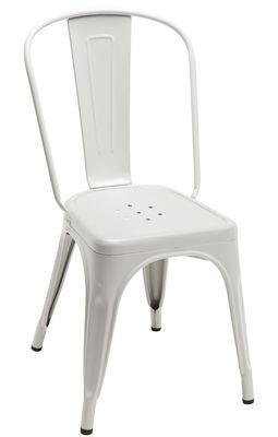 Chaise empilable A / Acier - Couleur mate Le Corbusier - Intérieur