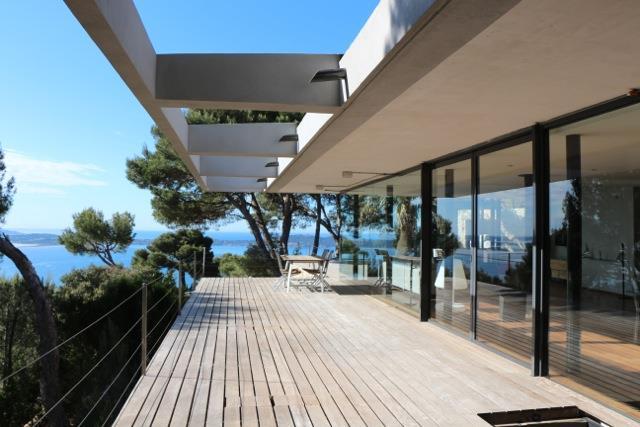 Terrasse et porte faux fr d rique legon pyra architecte dplg - Porte terrasse ...