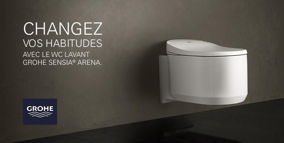WC lavant Sensia Arena